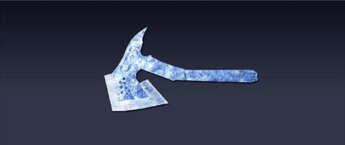 战争使命水晶手斧