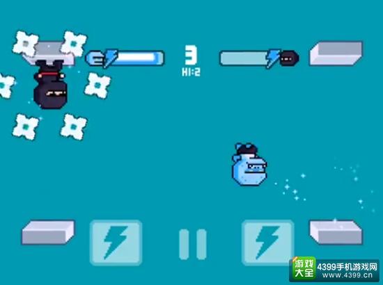 像素风双人对战游戏 《空翻冠军:重装上阵》8月上架