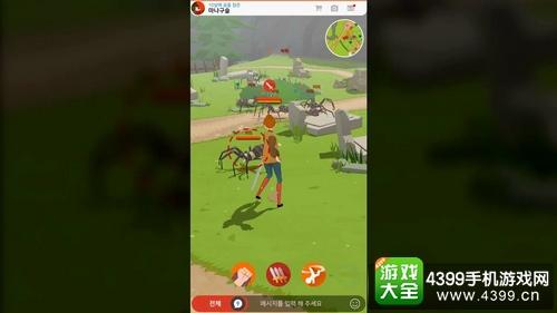 画面精美清新 Nexon 新公布 MMO 作品《洛奇手机版》