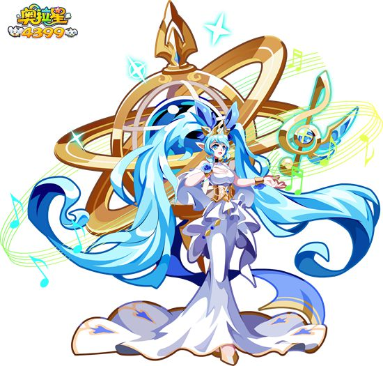 奥拉星地球女神高清大图