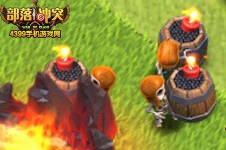 部落冲突常识题:家乡村庄开墙要几个炸弹人