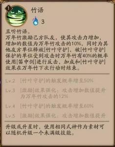 阴阳师万年竹技能
