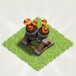 部落战争防空火箭