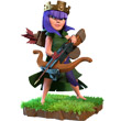 部落战争弓箭女王