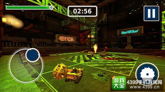 RC机器人战争:迷你赛车