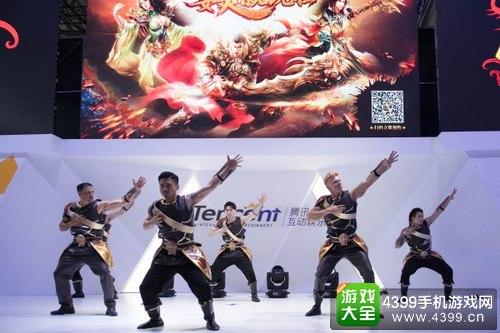 《传奇霸业手游》亮相ChinaJoy 掀起指尖热血霸业狂潮