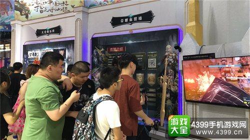 《天堂2:誓言》震撼亮相ChinaJoy2017 手游的极致视听盛宴3