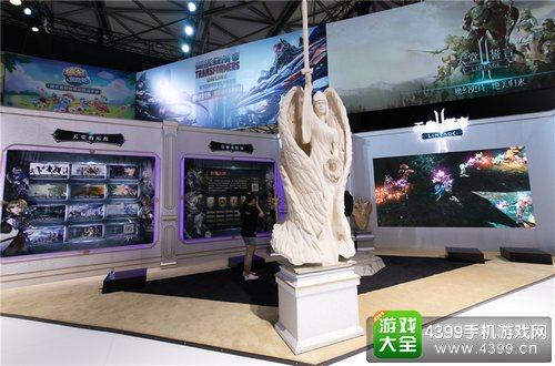 《天堂2:誓言》震撼亮相ChinaJoy2017 手游的极致视听盛宴4