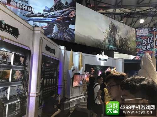 《天堂2:誓言》震撼亮相ChinaJoy2017 手游的极致视听盛宴5