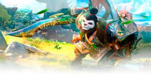 猎龙女孩凶萌来袭 《太极熊猫3:猎龙》亮相CJ
