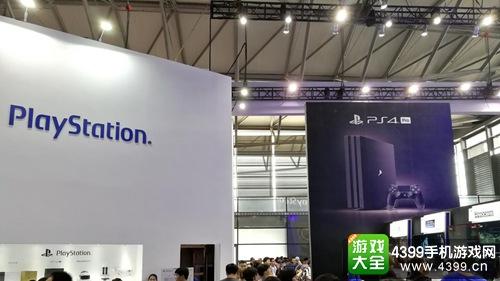 图片为Sony展台概览图