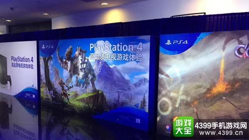 图片为Sony发布会内外场