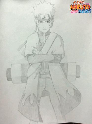 火影忍者ol手绘鸣人_4399火影忍者ol