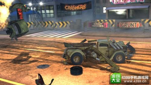 死亡赛车:毁灭者 残骸