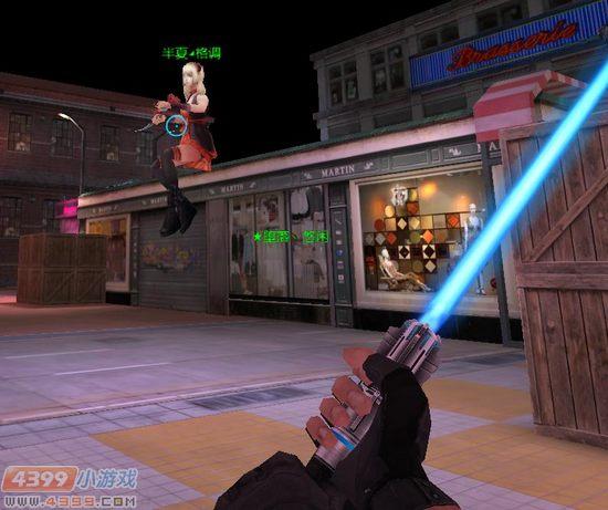 生死狙击游戏截图-坐在屋顶的巨人