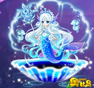 奥比岛魅蓝宝石人鱼装图鉴