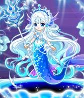 奥比岛魅蓝宝石人鱼装