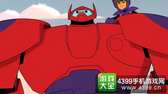 超能陆战队TV画面