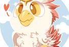 洛克王国绘画之烈钻鸟