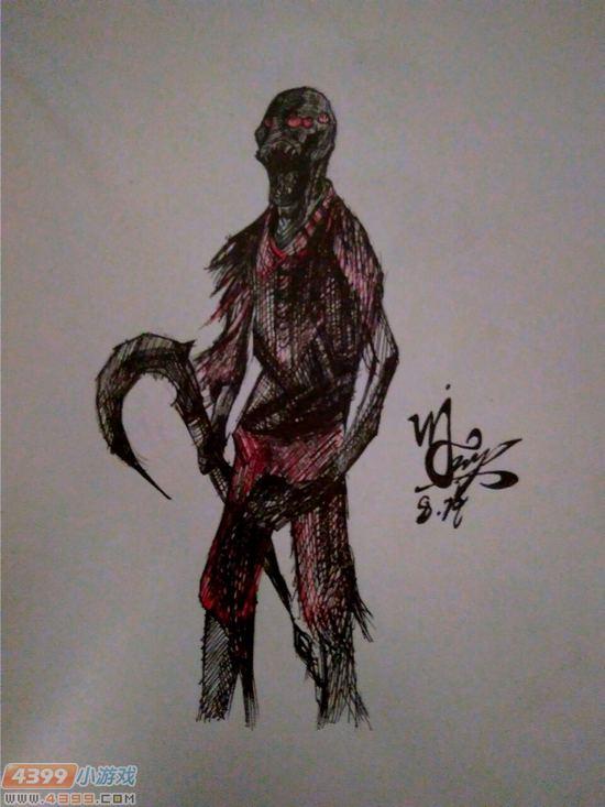 生死狙击玩家手绘-自创变异体