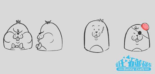 吃鸡人物简笔画画法