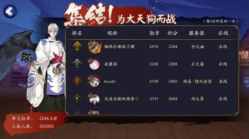 阴阳师大天狗