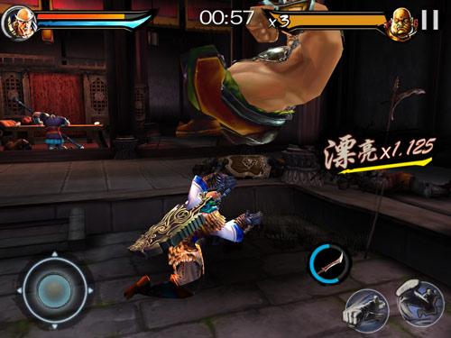 游戏中玩家可实现浮空式无限连击