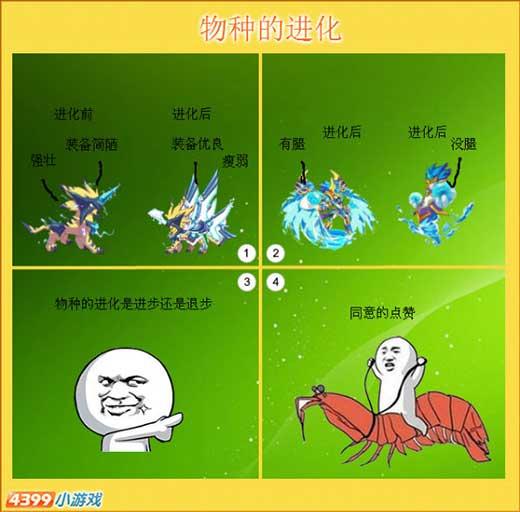 热血精灵派四格 物种的变化