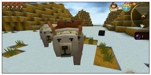 迷你世界怎么驯服冰熊 冰熊一般在哪