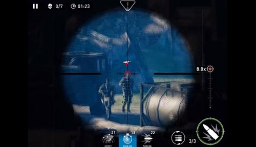 狙击手幽灵战士