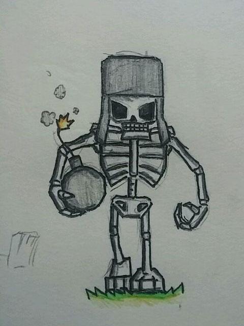 皇室战争骷髅巨人