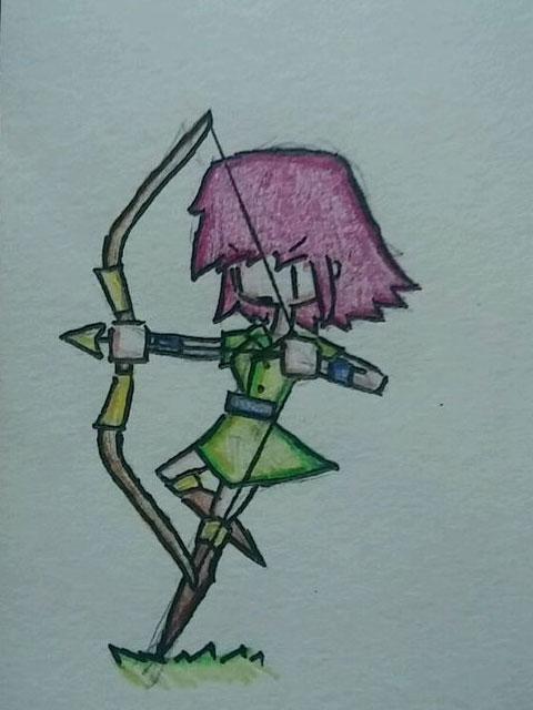 皇室战争弓箭手