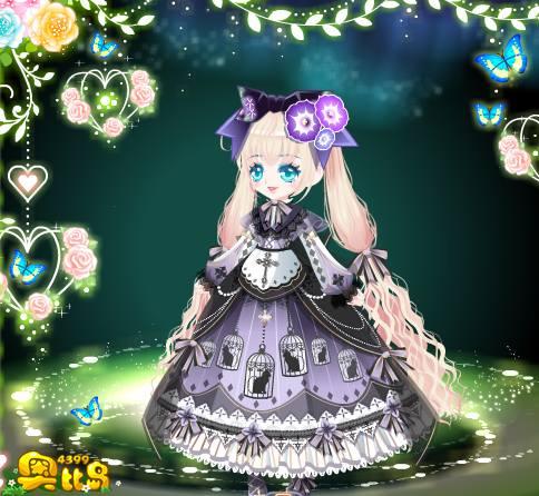 奥比岛奥比秀暗系Alice