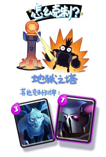 皇室战争超级骑士漫画4