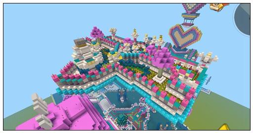 迷你世界创造地图:LOVE-Koのijool 玩家存档分享