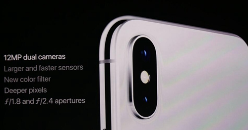 iPhone X摄像头