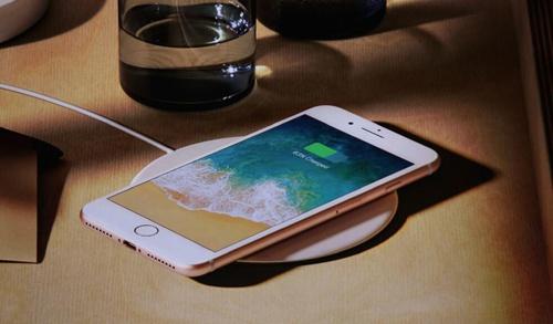 iPhone8无线充电
