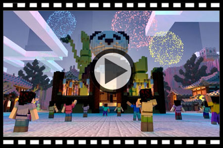 我的世界网易ios上线动画视频