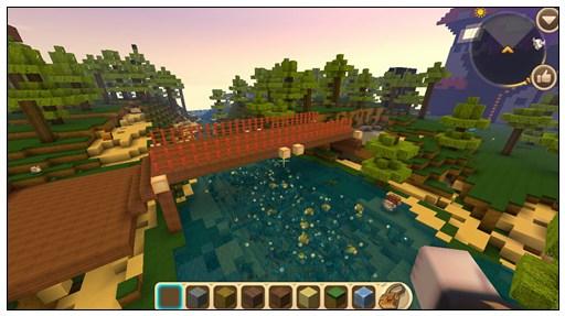迷你世界创造地图:羊村与狼堡 好玩存档分享