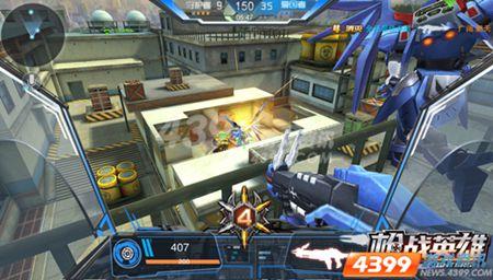 MOBA射击革命 四三九九枪战英雄 三大革新玩法重磅来袭