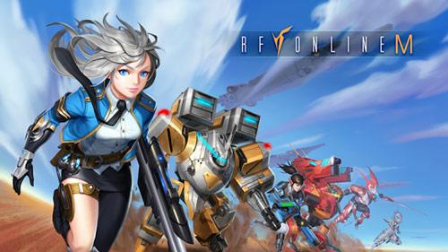 韩国线上游戏改编《射频在线M(RF Online M)》登陆安卓