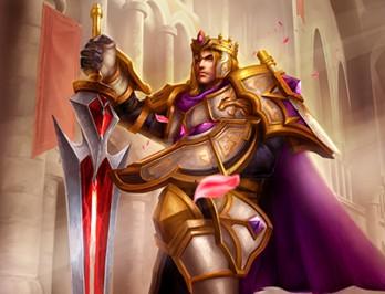 创世联盟亚瑟王皮肤 荣耀帝王亚瑟王