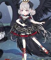 奥比岛暗黑天鹅公主装