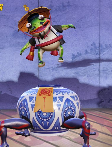 代号moba青蛙瓷器