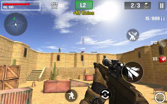3D沙漠枪战行动
