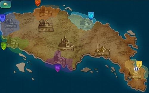 剑与家园新手入门攻略——地图