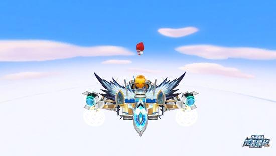 完美漂移游戏截图之我和云朵肩并肩