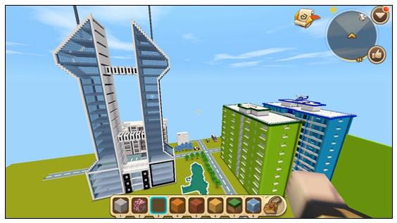 迷你世界创造地图:安逸小镇 好玩存档分享