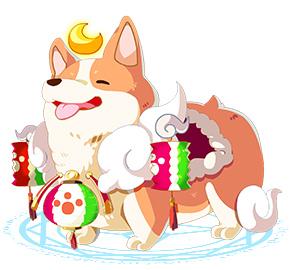 奥奇传说月之萌犬