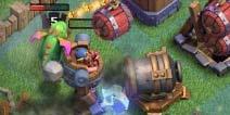 部落冲突谁说巨型加农炮没有用?轻松怼5级英雄